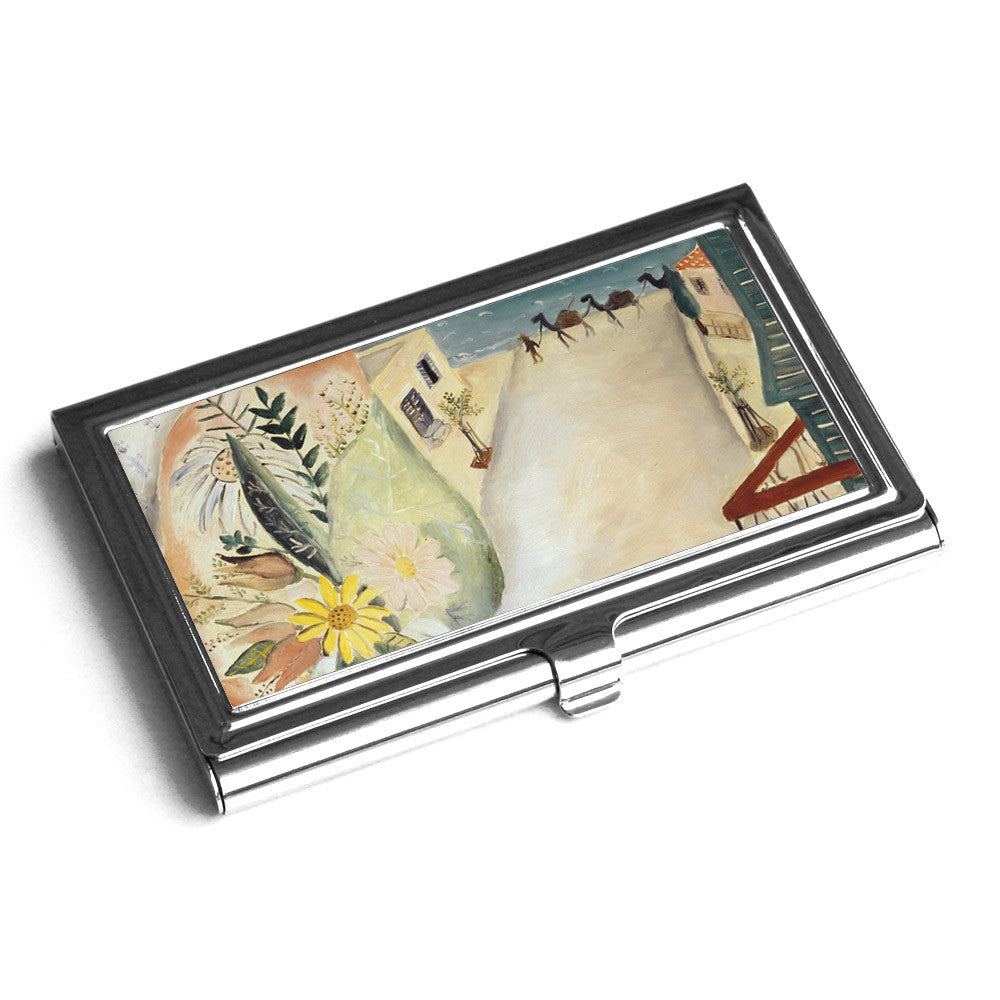 Products tagged business card holder ofek wertman contemporary business card holder view from my window by reuven rubin ofek wertman jewish magicingreecefo Gallery