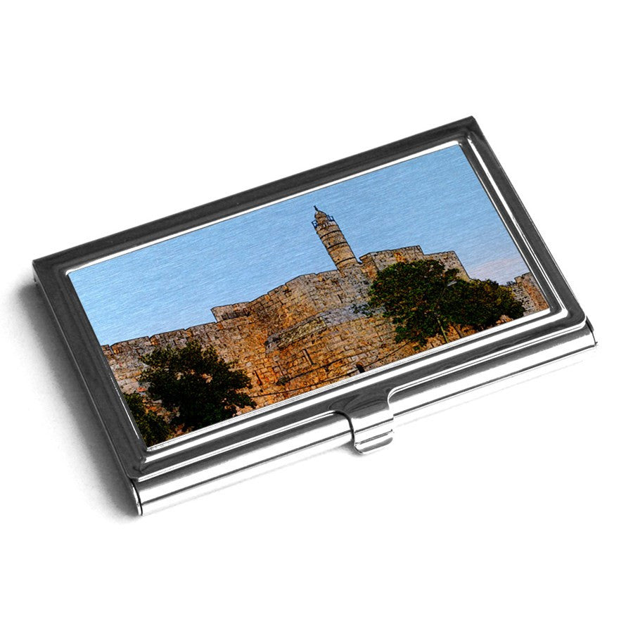 Products tagged business card holder ofek wertman contemporary business card holder tower of david jerusalem ofek wertman jewish gifts israeli gifts magicingreecefo Gallery