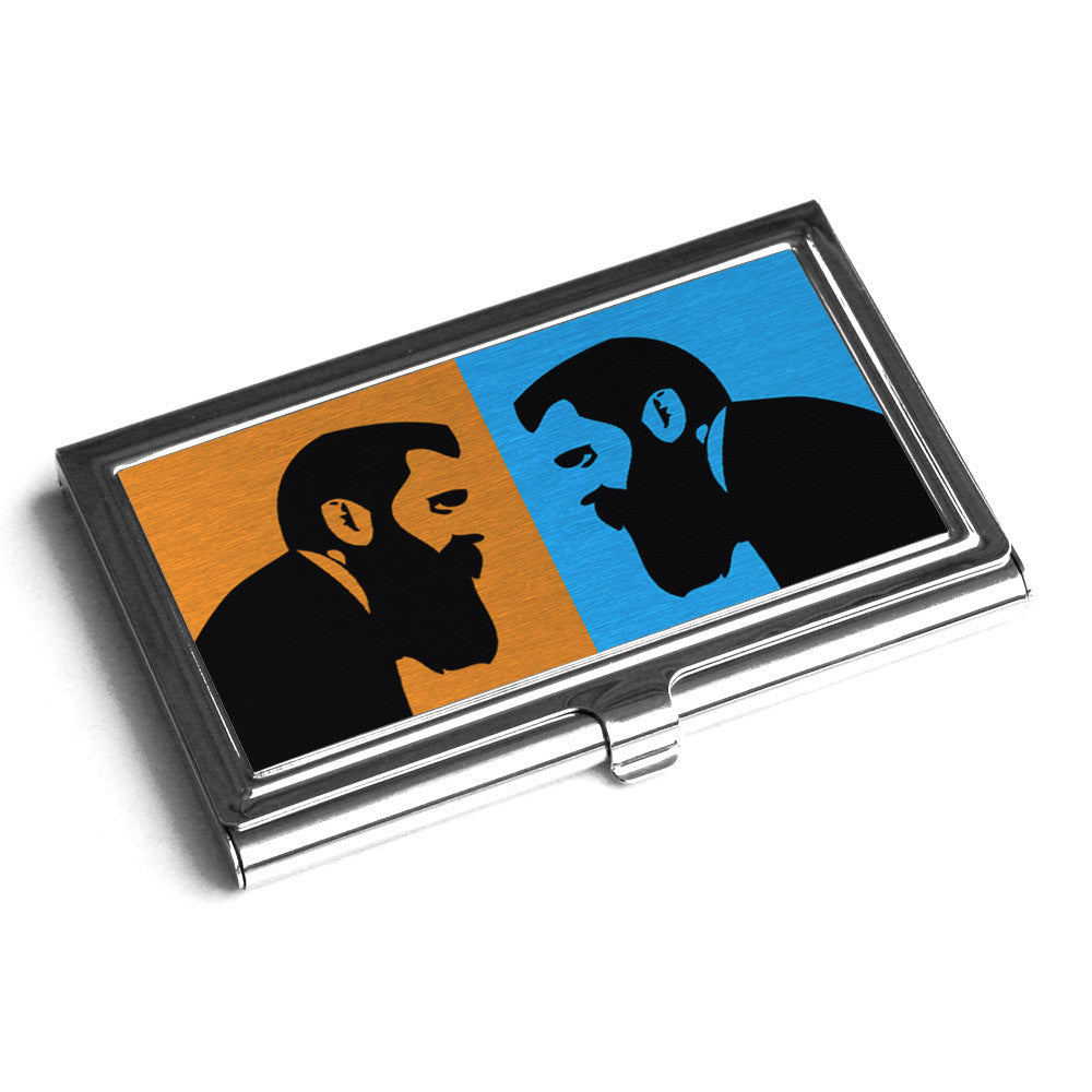 Herzl Business card Holder | israeli gifts | jewish gifts for him ...