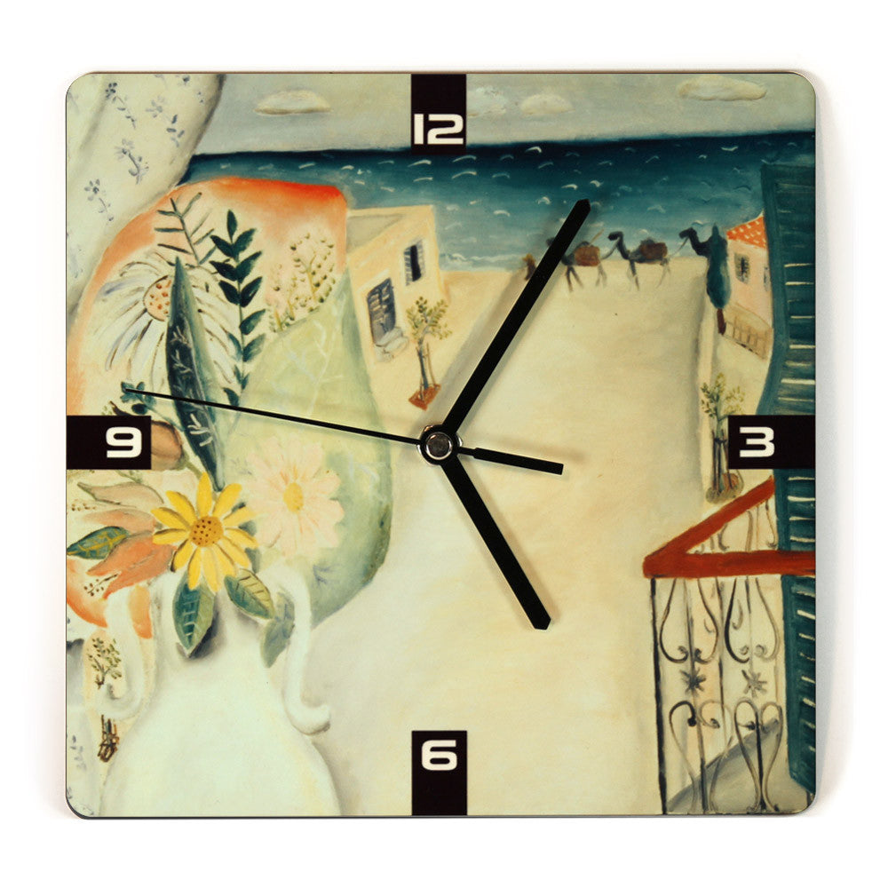 Wall Clock   jewish gifts for the home   israeli gifts - Ofek ...