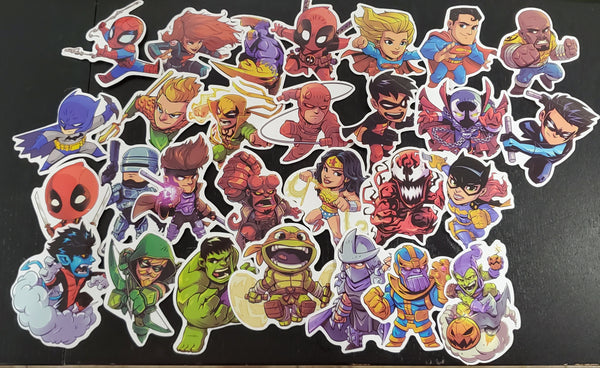 Random Sticker Pack A (5 Pack) - Toypocalypse