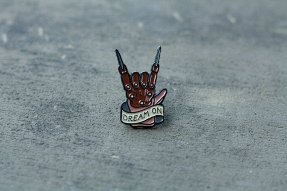 "Nightmare on Elm Street - ""Dream On"" Enamel Pin"