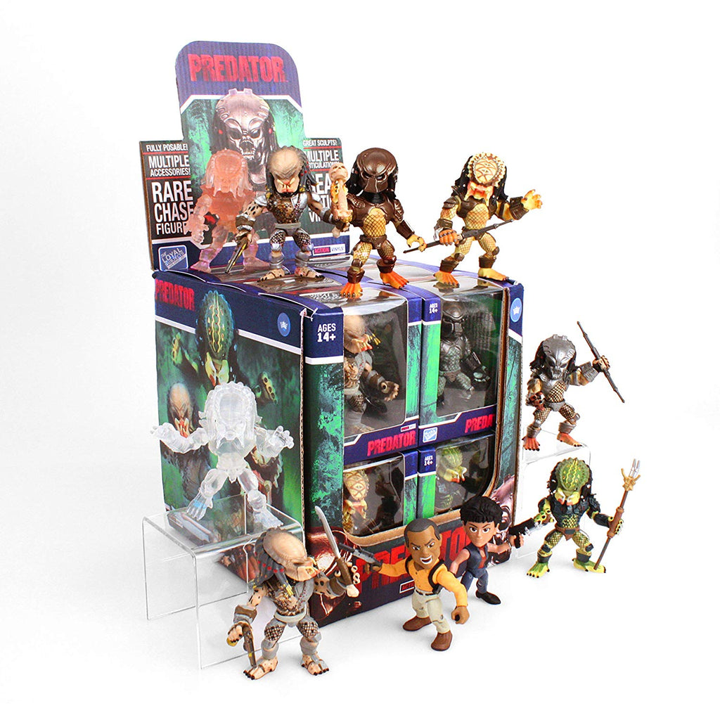 The Loyal Subjects Predator Action Vinyls - Toypocalypse