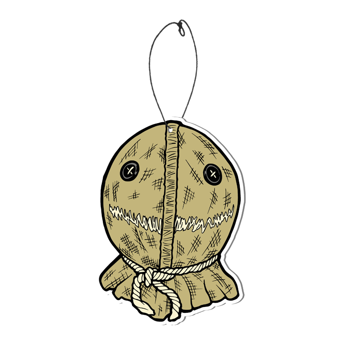 TRICK R TREAT SAM BURLAP FEAR FRESHENER freeshipping - Toypocalypse