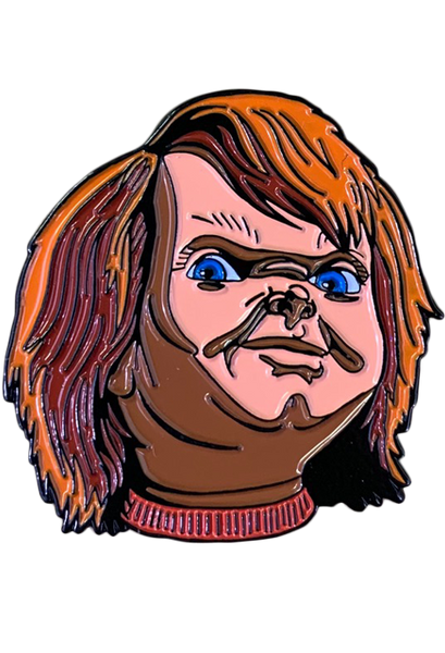 CHILD'S PLAY 2 - CHUCKY ENAMEL PIN - Toypocalypse