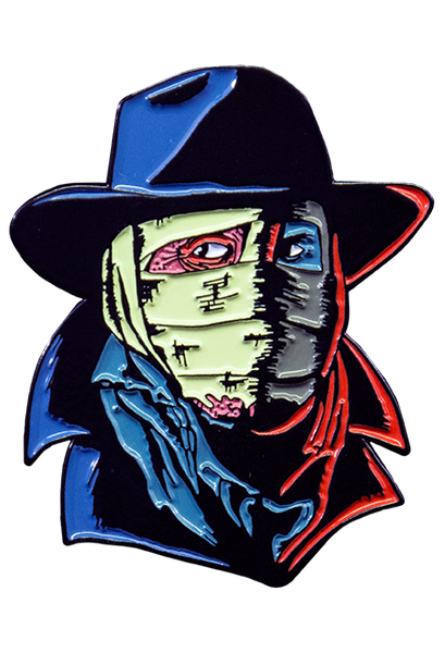 TRICK OR TREAT STUDIOS - DARKMAN ENAMEL PIN - Toypocalypse