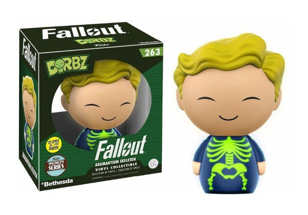 DORBZ - Fallout Adamantium Skeleton (Specialty Series Glow in the Dark) - Toypocalypse