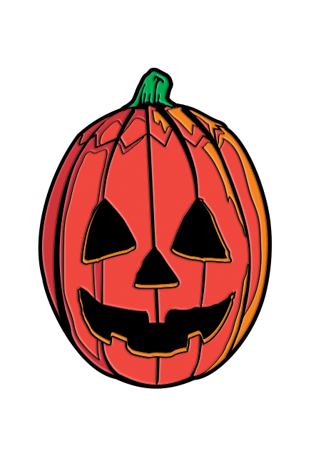 HALLOWEEN III SEASON OF THE WITCH - PUMPKIN ENAMEL PIN - Toypocalypse