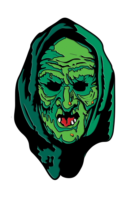 HALLOWEEN III SEASON OF THE WITCH - WITCH ENAMEL PIN - Toypocalypse