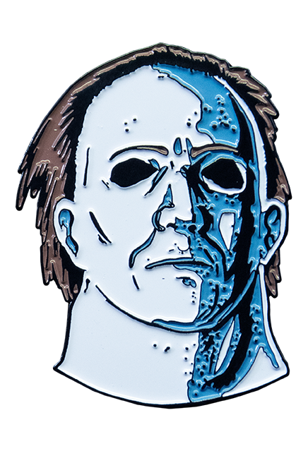 HALLOWEEN 5 THE REVENGE OF MICHAEL MYERS - MICHAEL MYERS ENAMEL PIN - Toypocalypse