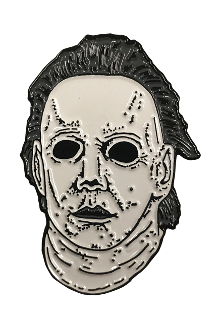 HALLOWEEN 6 THE CURSE OF MICHAEL MYERS ENAMEL PIN - Toypocalypse