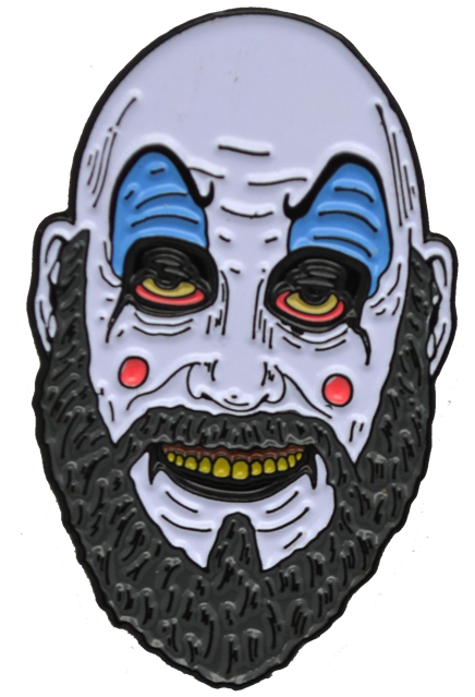 HOUSE OF 1,000 CORPSES CAPTAIN SPAULDING ENAMEL PIN - Toypocalypse