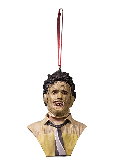 HOLIDAY HORRORS - TEXAS CHAINSAW MASSACRE LEATHERFACE ORNAMENT - Toypocalypse