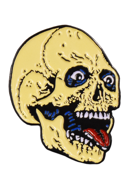 THE RETURN OF THE LIVING DEAD - PARTY TIME SKELETON ENAMEL PIN - Toypocalypse