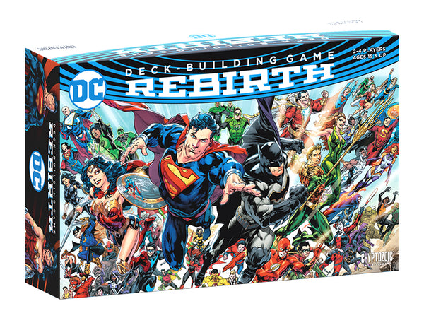 DC Deck Building Game Rebirth freeshipping - Toypocalypse