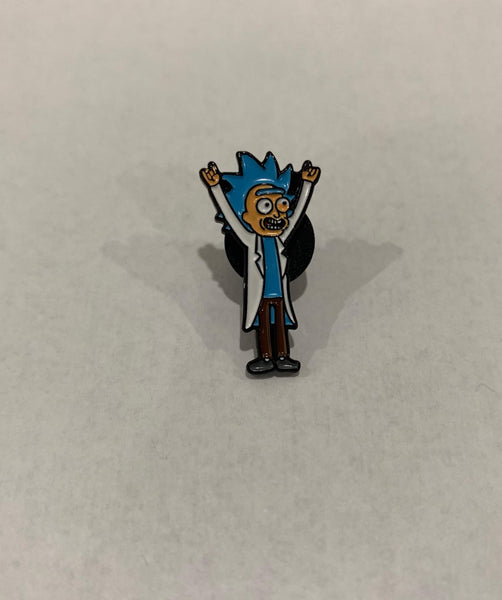 Rick and Morty - Tiny Rick enamel pin freeshipping - Toypocalypse