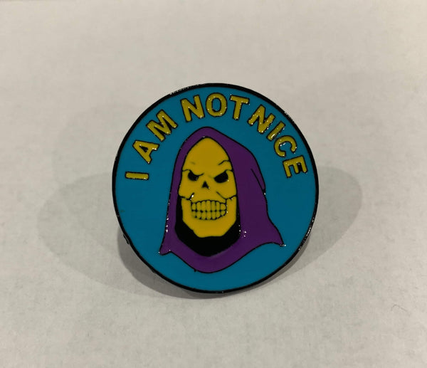 Masters of the Universe - Skeletor I am not nice enamel pin
