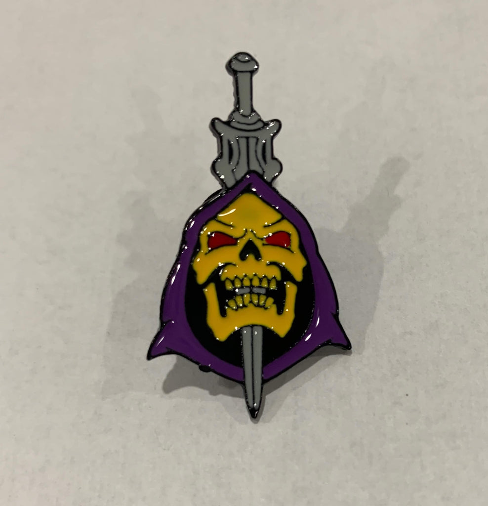 Masters of the Universe - Skeletor Sword enamel pin