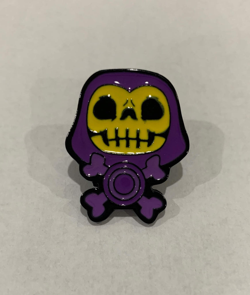 Masters of the Universe - Kid Skeletor enamel pin freeshipping - Toypocalypse