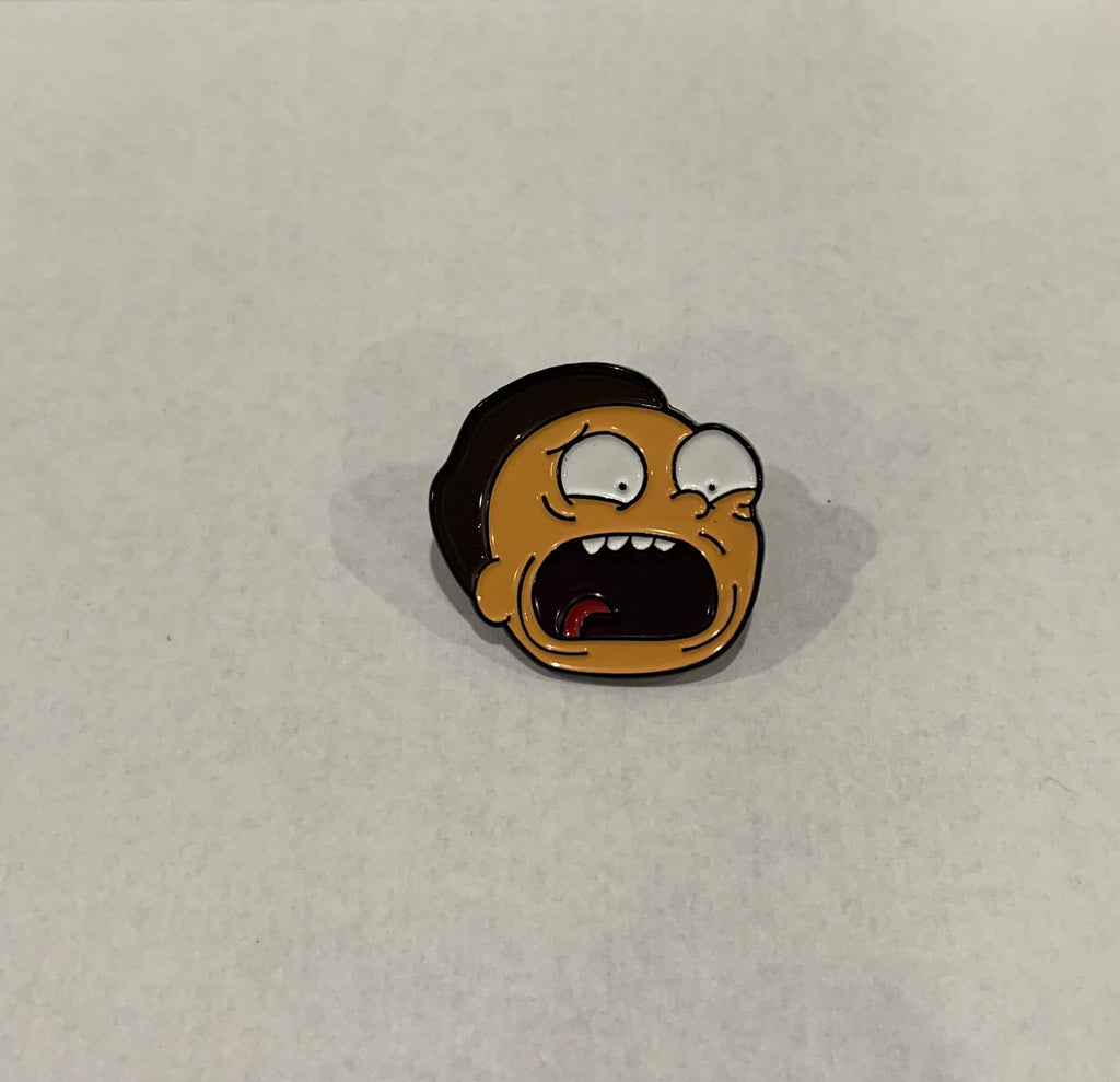 Rick and Morty - Screaming Morty enamel pin