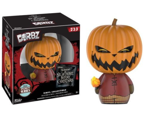 Dorbz Nightmare before Christmas Pumpkin King (Specialty Series) - Toypocalypse
