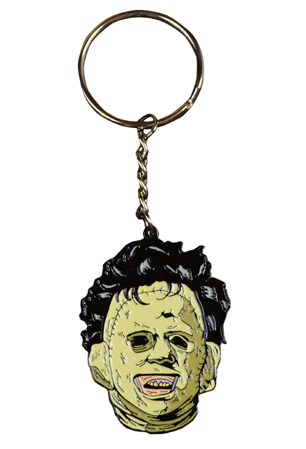 THE TEXAS CHAINSAW MASSACRE LEATHERFACE KEYCHAIN - Toypocalypse