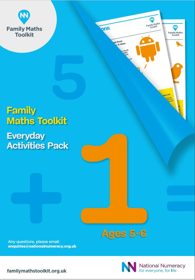 Family Maths Everyday Activities Pack - Year 1 (Age 5-6)