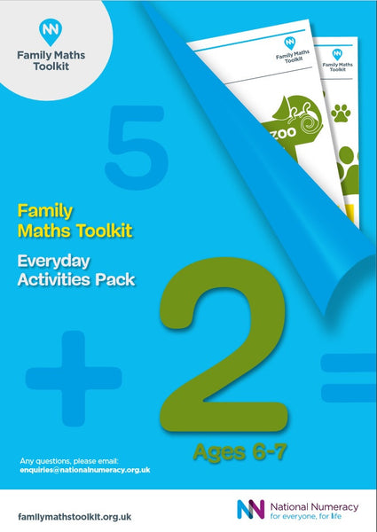 Family Maths Everyday Activities Pack - Year 2 (Age 6-7)