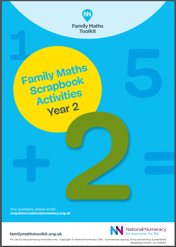 Family Maths Activities Pack for Schools – Year 2 (Age 6-7) - Paper Version