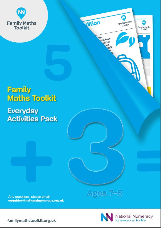 Family Maths Everyday Activities Pack - Year 3 (Age 7-8)