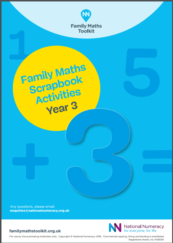 Family Maths Activities Pack for Schools – Year 3 (Age 7-8) - Download