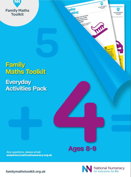Family Maths Everyday Activities Pack - Year 4 (Age 8-9)