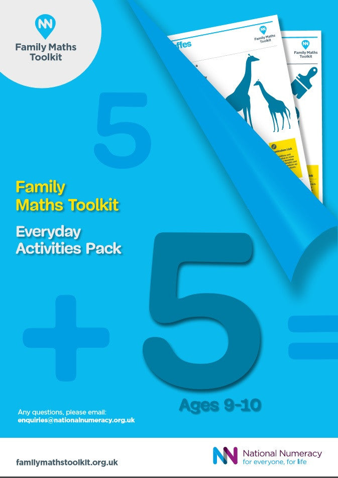 Family Maths Everyday Activities Pack - Year 5 (Age 9-10)