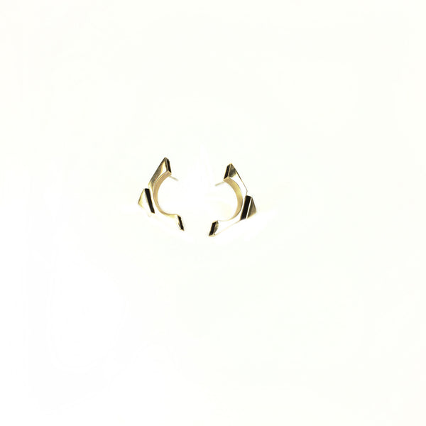 Hollow Fold Earrings