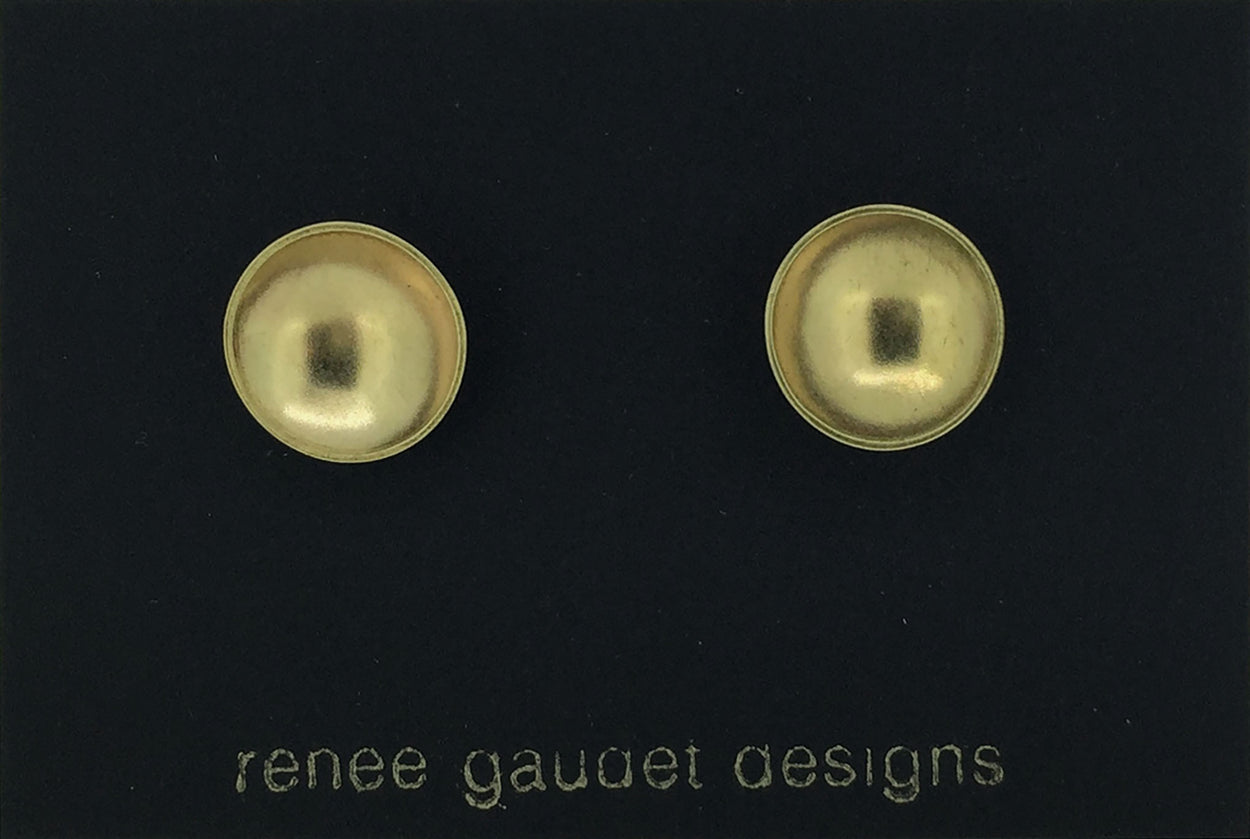 Concave Earrings BRASS