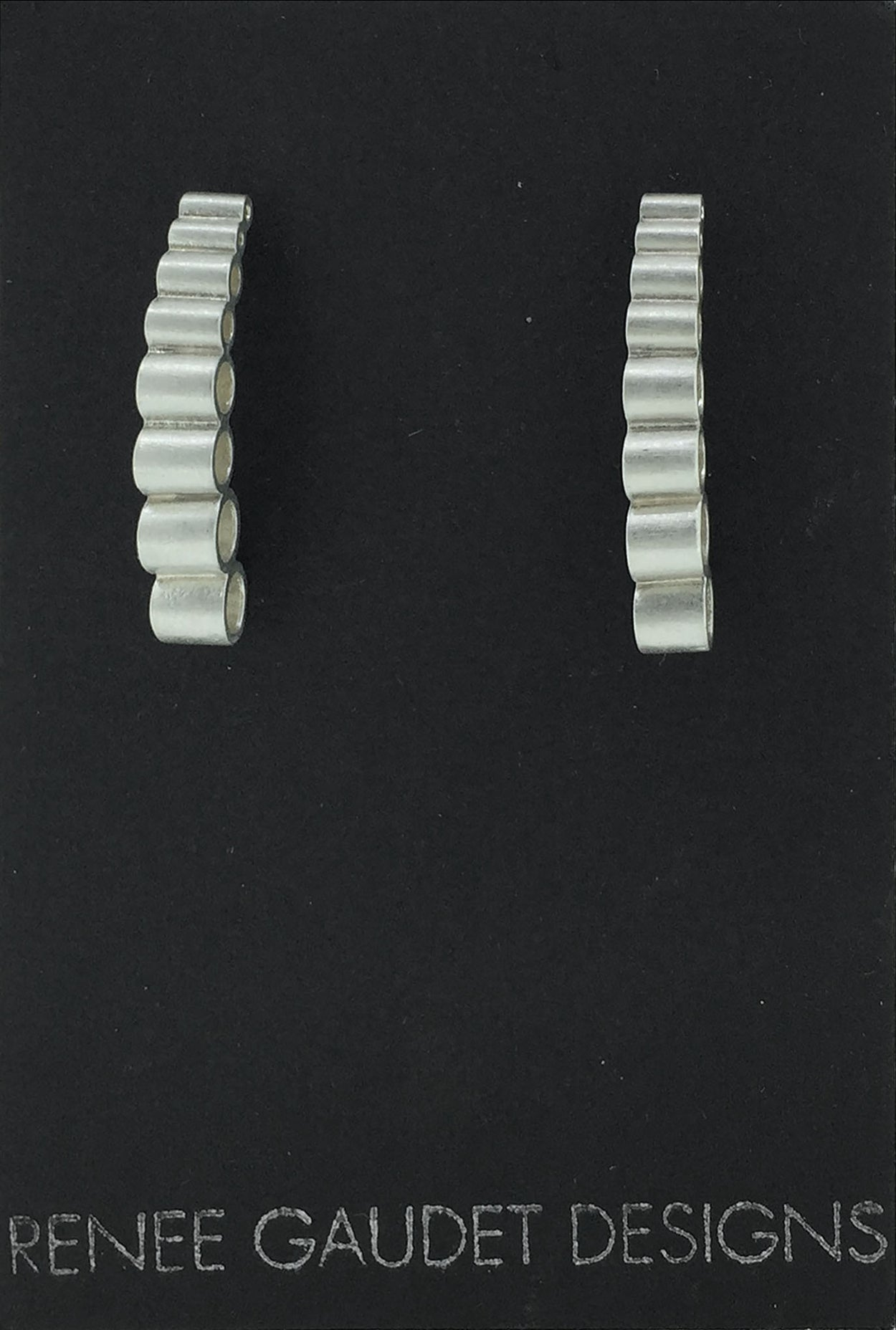 Descending Earrings SILVER