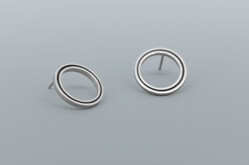 Function Earrings SILVER
