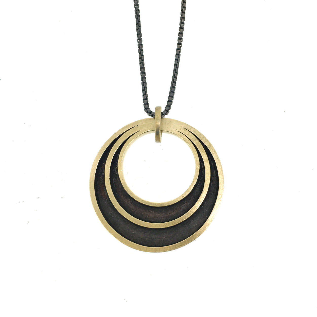 Halo Necklace BRASS