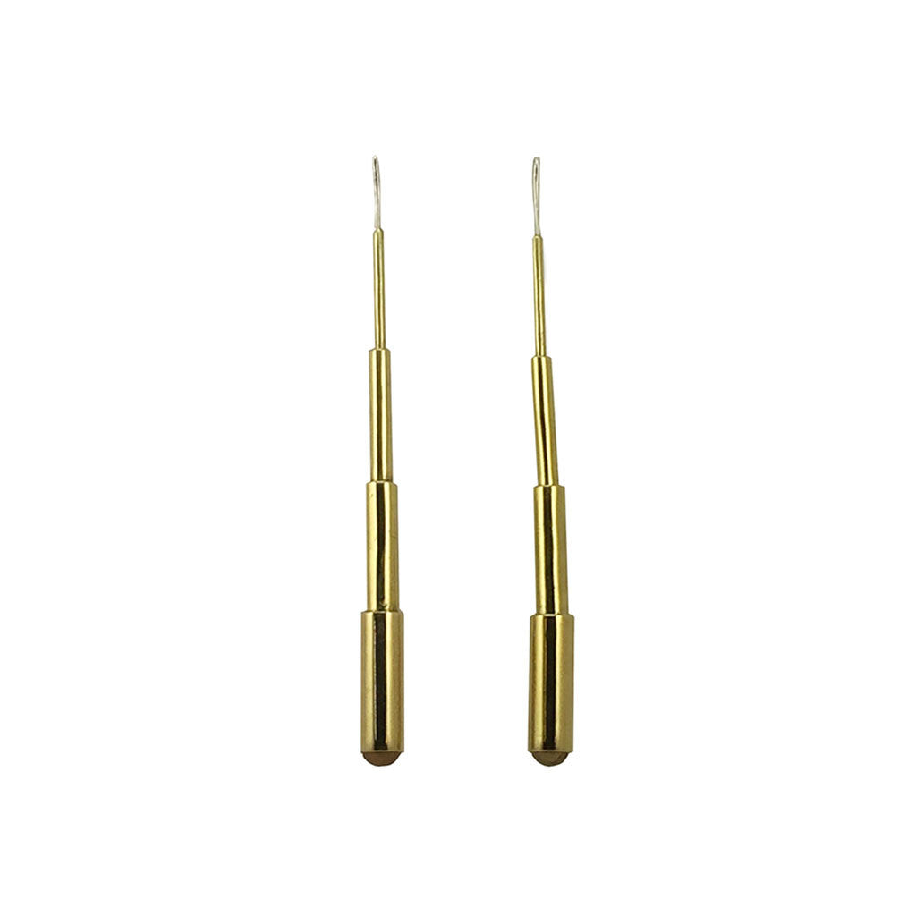 Brass Telescoping Earrings