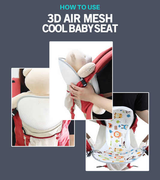 Cool Seat 3D Mesh Baby Carrier Liner