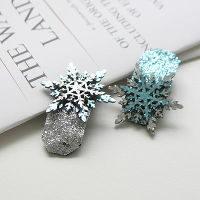 Icy Snowflake Hair Clip 12AA12