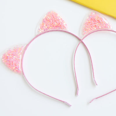 Pink Love Cat Hair Band 6AA2