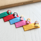Princess Hair Clips (Set of 5) 8AA22