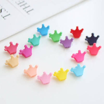 Mini Crown Hair Clips (Set of 10) 8AA4