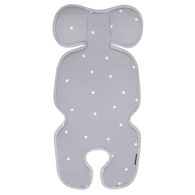 Modern Grey Dot Ice Cool Stroller Seat Liner BBN1062