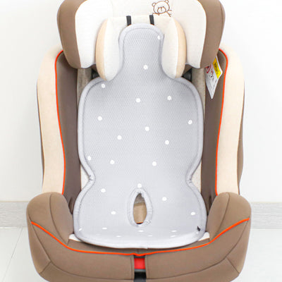 Modern Grey Dot Ice Cool Car Seat Liner BBN1078
