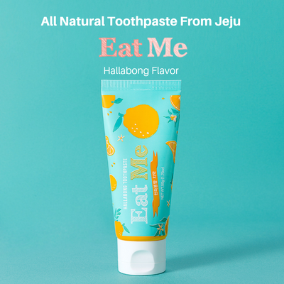 Eat Me Toothpaste Hallabong Flavour From Jeju - Minitotz