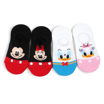 Mickey Mouse & Friends No-Show Socks IT1003