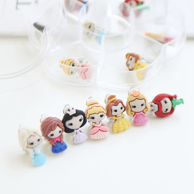 Princesses Clip-On Earrings (Set of 7) JR1002