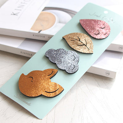 Forest Hair Clips Set (Set of 4) JR1006